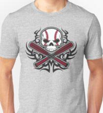 Basebal Skull Unisex T-Shirt