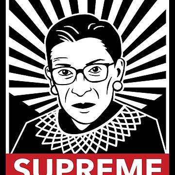 Supreme Justice Ruth Bader Ginsburg by friendlyspoon