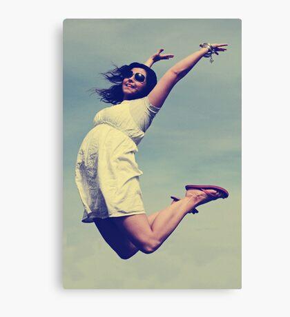 Jump For Joy! Canvas Print