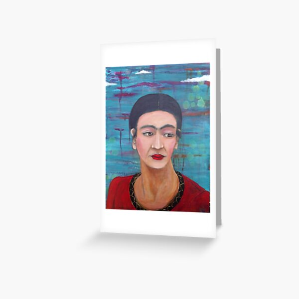 Still She Smiled Greeting Card