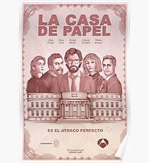 Casa de Papel Poster