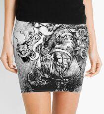 Steampunk Gnome Mini Skirt