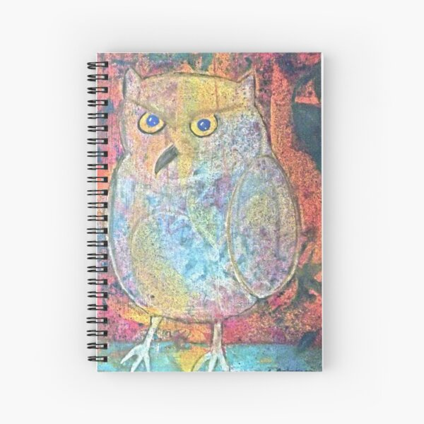 Owl Spiral Notebook