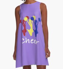Cheer School Pride Cheer Squad design A-Line Dress