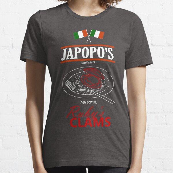 Santa Clarita Diet - Japopo's Clams (dark bg) Essential T-Shirt