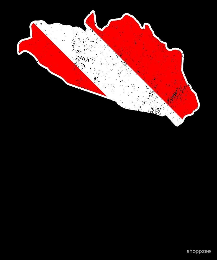 Guerrero Mexico Shirt Diver Flag T Shirt Scuba Diver Shirt by shoppzee