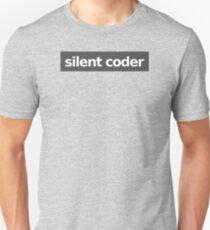 Silent Coder - Gray Unisex T-Shirt