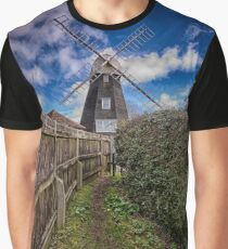 Footpath To Field Mill Graphic T-Shirt