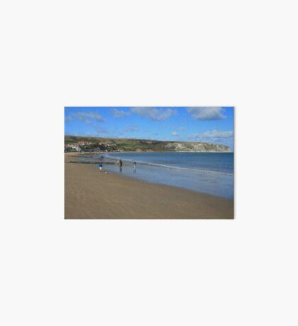 Swanage Beach & Ballard Down Art Board