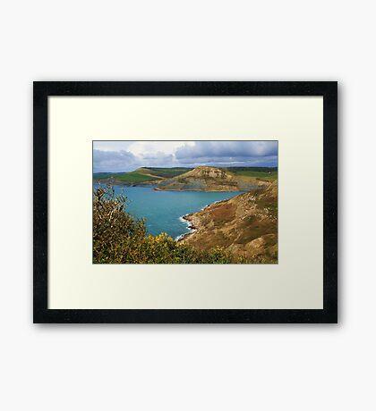 Rope Lake Head & Houns Tout Cliff Framed Print