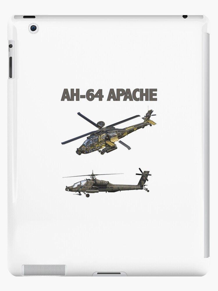 'AH-64 Apache Helicopter' iPad Case/Skin by kudostees