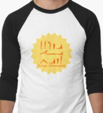 Yoga Design for Yoga Addicts - Yoga Gift - Yoga Art Men's Baseball ¾ T-Shirt