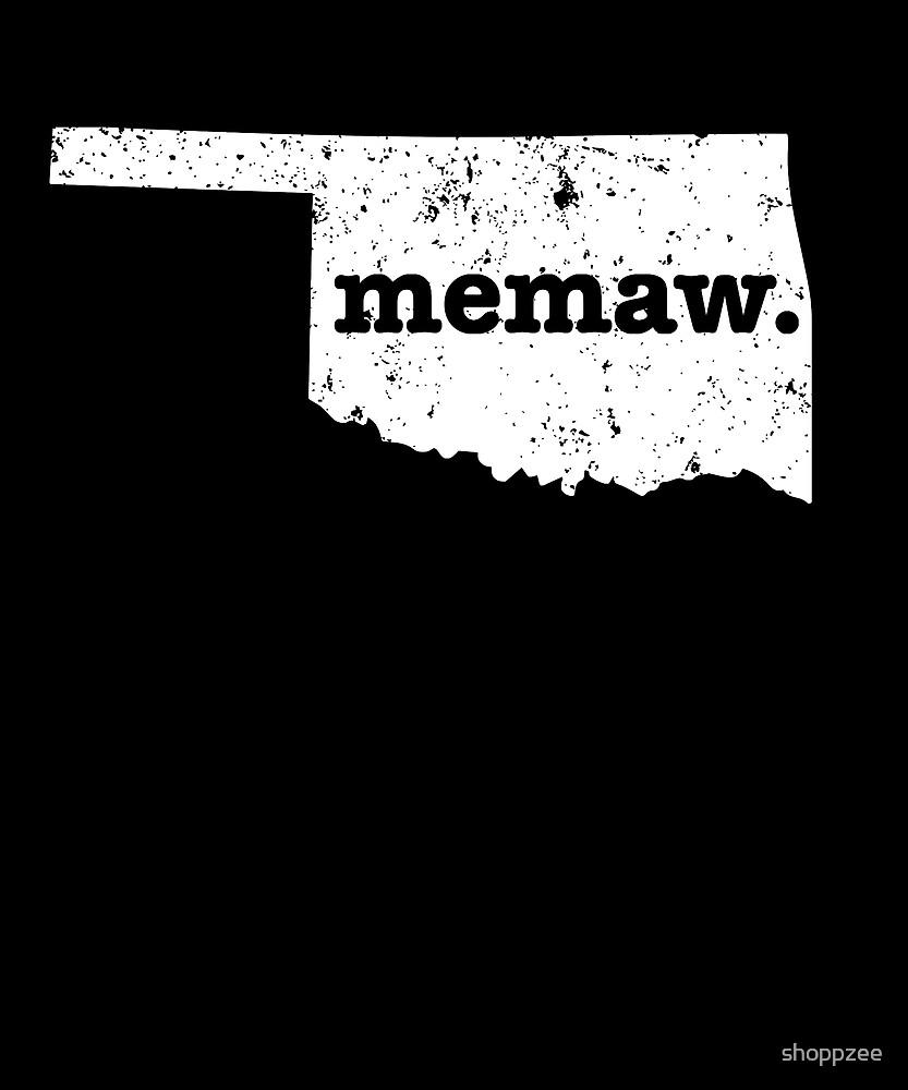 Best Memaw Oklahoma Grandma by shoppzee