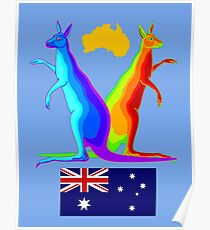 Krazy Kangaroos Poster