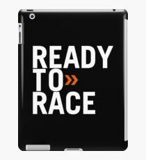 Bereit zum Rennen iPad-Hülle & Klebefolie