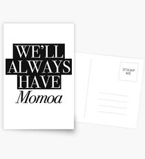We will always have Momoa Postcards
