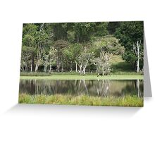 Kempsey Pond Greeting Card
