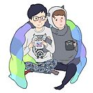 phan cuddle by backin2009