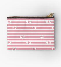 Assless Mass Stripes (Pink) Studio Pouch