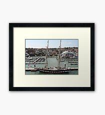 Training Ship Framed Print