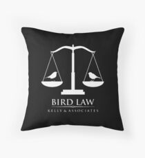 Bird Law Kelly Associates  Throw Pillow