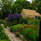 Flowers, Greenfield Village, MI by Rose Mary Cheek