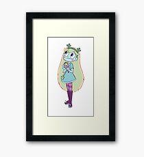 Cactus Star Framed Print