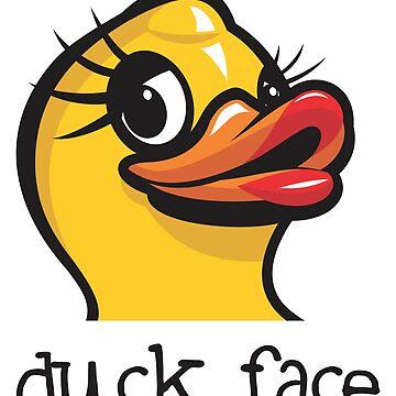 DuckFace by jamieleeart