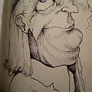 lookin up sketch by KillerNapkins