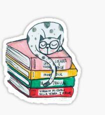 Read and sleep, cat's life Sticker