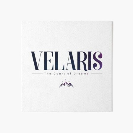 Velaris A Court of Dreams  ACOMAF  Art Board Print