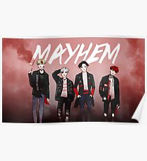 MAYHEM - POSTER Poster