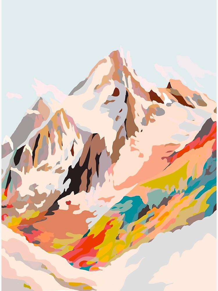 glass mountains by dansedelune