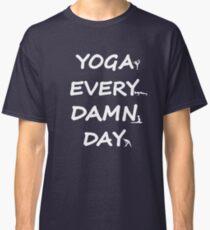 Yoga Design for Yoga Addicts - Yoga Gift - Yoga Art Classic T-Shirt