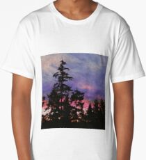 Port Townsend Sunset Long T-Shirt
