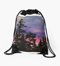 Port Townsend Sunset Drawstring Bag