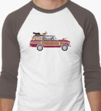 Wags in a Waggy Men's Baseball ¾ T-Shirt