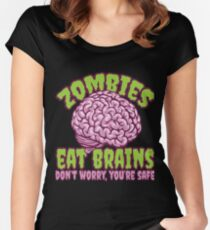 Funny Chihuahua Zombie Apparel Women's Fitted Scoop T-Shirt