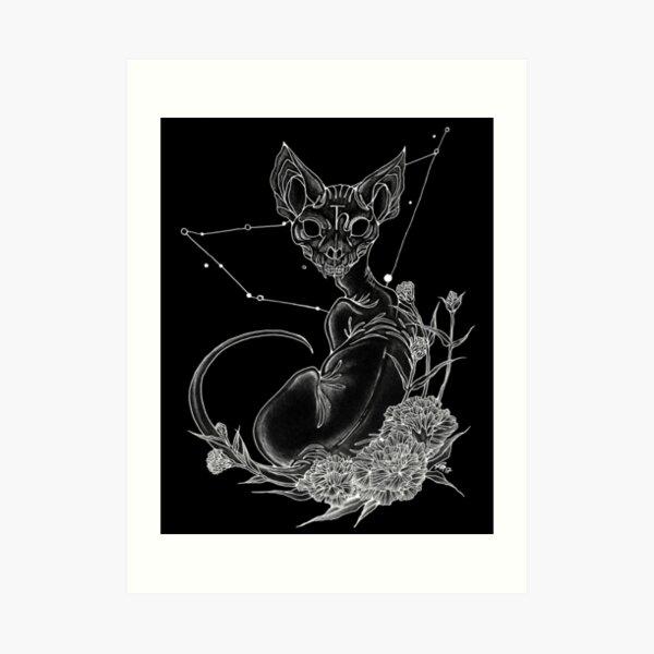 Saturn Ruling Capricorn Art Print