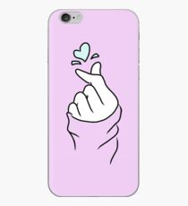Cute Heart~ Pastel Purple iPhone Case