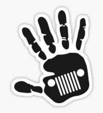 Jeep wave tradition Sticker