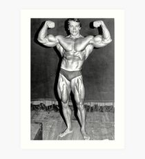 Arnold Schwarzenegger Vintage Art Print