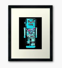 Robot Ron - Your Friendly Robot Framed Print