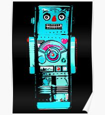 Robot Ron - Your Friendly Robot Poster