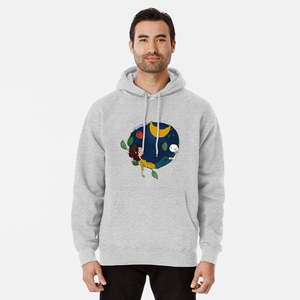 Lux under the moon Pullover Hoodie