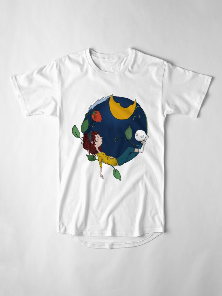 Alternate view of Lux under the moon Long T-Shirt