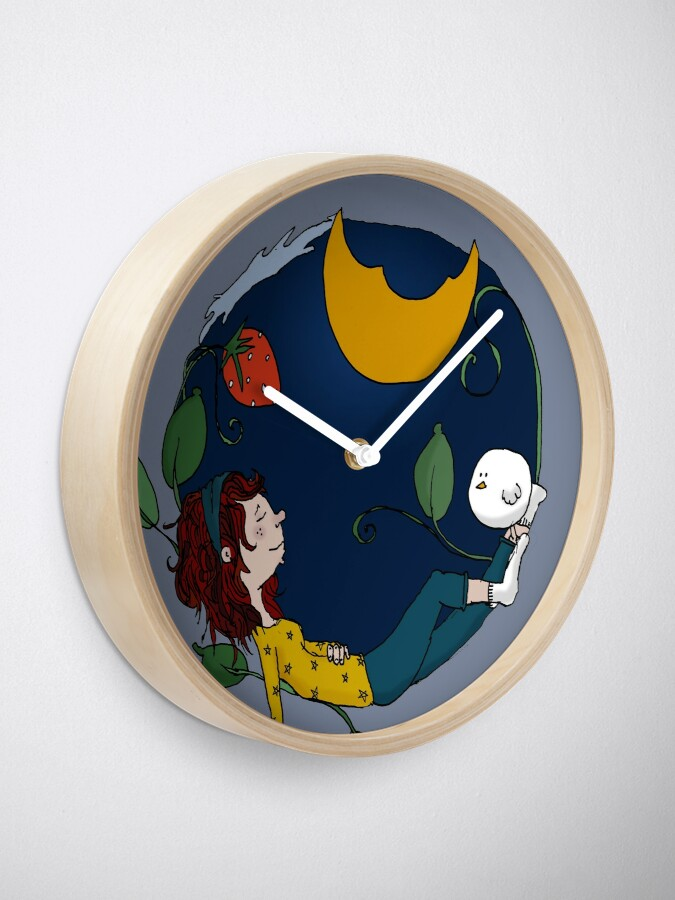 Alternate view of Lux under the moon Clock
