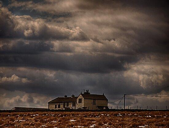 Ovenden Moor Farmhouse  by Glen Allen