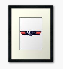 Top Gamer Framed Print