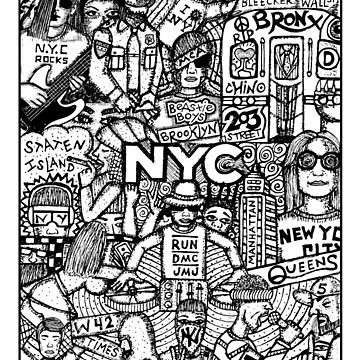 N.Y.C by geneticthreat